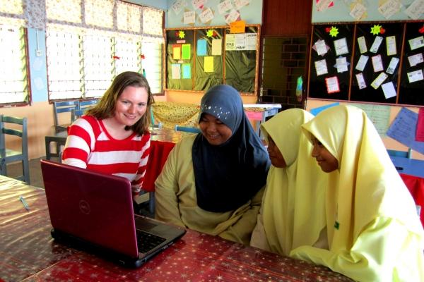 Andrea Williamson, 2010 Fulbright ETA to Malaysia